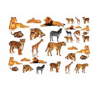 Карта to do животные африки арт to do 140