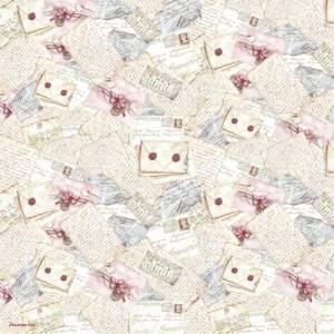 Бумага рисовая Stamperia Письма