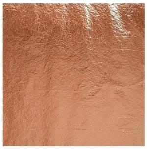 Набор потали в листах 14х14 см, 25 листов, цвет Медь
